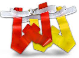 Red Flag Football Football Flag Belts