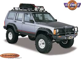 1988 jeep comanche bushwacker 10912 07 cut out fender flares for 84 96 jeep cherokee