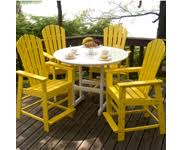 Resin Patio Chair Buy Resin Patio Furniture By Polywood Free Shipping
