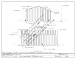 Building Elevation In 12 X40 by Pole Barn House Plans Sds Plans