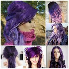 hair trends for long hair 2016 2016 purple hair color ideas haircuts hairstyles 2016 and hair