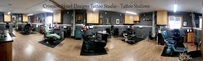 crimson heart designs tattoo studio 162 13 1 2 14th avenue