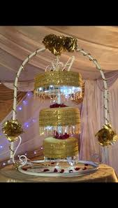 Upside Down Crystal Chandelier Four Tier Crystal Chandelier Wedding Cake Designed For A Luxury
