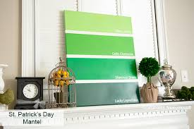 s day home decor craftaholics anonymous simple st patricks day mantel st s