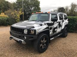 hummer h3 used 2007 hummer h3 3 7 v6 auto custom camouflage wrap for sale in