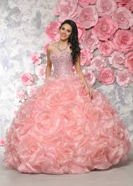 coral pink quinceanera dresses cheap sweetheart beading coral pink the shoulder