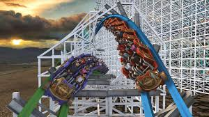 Six Flags Fort Worth Twisted Colossus New Record Breaking Hybrid Coaster To Open At