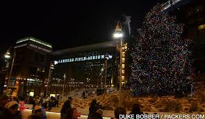 green bay packers lights eleventh annual festival of lights at lambeau field set for dec 3