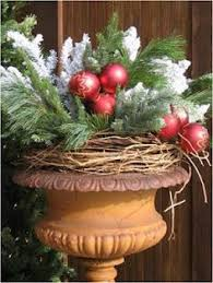 Decorate Outside Urn Christmas by Spring Urn At Tabule Restaurant Yonge St Location Designed By