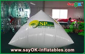 0 6mm pvc pyramid logo printing advertising inflatables