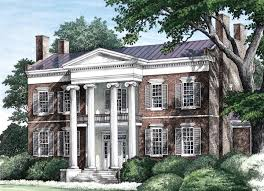 antebellum house plans house plan 86274 at familyhomeplans com