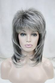 medium grey hairstyles trendy haircuts