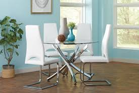 chair round glass breakfast table set starrkingschool white and