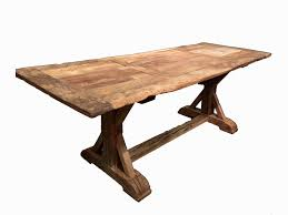 French Trestle Table Home Design Ideas And Pictures - Trestle table design
