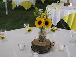 sunflower centerpiece diy sunflower centerpieces centerpieces simple and pretty