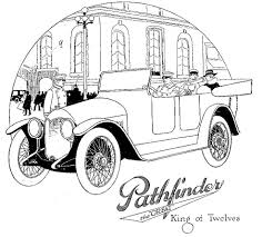 vintage cars drawings pathfinder 1912 automobile wikipedia