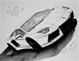 lamborghini sketch lamborghini aventador throwing down some quick marker u2026 inc1979