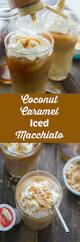 iced espresso macchiato coconut caramel iced macchiato lemonsforlulu com