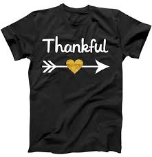 thankful golden t shirt teeshirtpalace