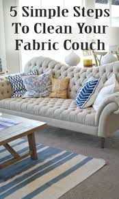 how to clean a sofa best 20 clean fabric couch ideas on pinterest cleaning