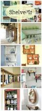 unusual diy shelves cozy little house