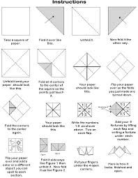 how to make paper fortune teller projects for