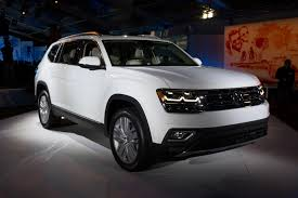 volkswagen atlas seating 2018 volkswagen atlas first look