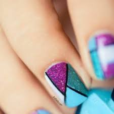 nail designs with tape u0026 popular choice 2017 picsrelevant