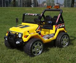 old yellow jeep electric u0026 pedal ride ons page 1 www funstuff ie