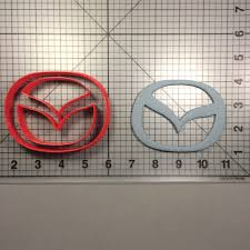 mazda logos logo cookie cutter