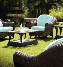 salon de jardin haut de gamme resine tressee canapé de jardin résine wenge clasic 3 places 4751