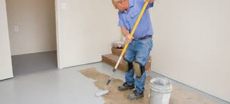Basement Floor Covering How To Cover Your Concrete Basement Floor Doityourself Com