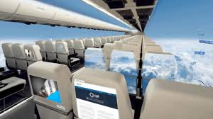 in this airplane redesign no one and everyone gets a window seat
