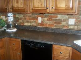 Peel And Stick Backsplashes For Kitchens Kitchen Brick Veneer Cost Stone Kitchen Backsplash Peel And