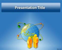 globe powerpoint template slide graphics design