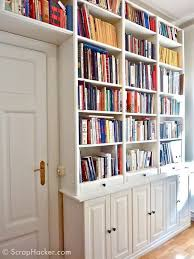 Wall Bookcases With Doors 30 Genius Ikea Billy Hacks For Your Inspiration 2017