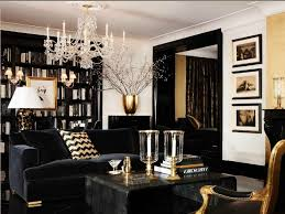 Living Room Decor Black Leather Sofa Brown And Gold Living Room Ideas Black Medium Size Armchair