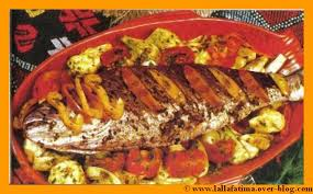 overblog cuisine marocaine poisson au four la cuisine marocaine chez lalla fatima
