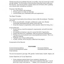 exles of teen resumes resume objective exle for statement on nursing high