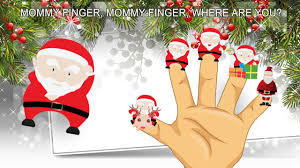 santa claus happy merry finger family song