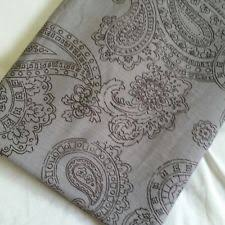 threshold paisley shower curtain yellow ebay
