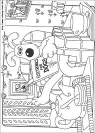 gromit coloring picture