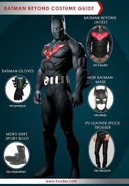 batman costumes now its your turn to become batman beyond a costume guide to look