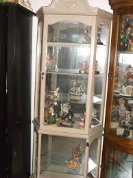 White Curio Cabinet White Wash Curio Cabinet Approx 30