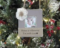 Mother Daughter Christmas Ornaments Christmas Holiday Engagement Wedding Gift Personalized Picture