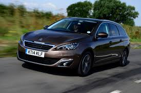 peugeot uk peugeot 308 sw bluehdi review auto express