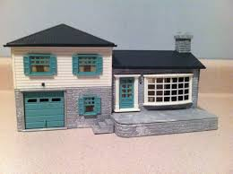 Split Level Home by Buy Plasticville Split Level Home O U0026s Gauge House Ln Trainz Auctions