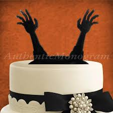 Halloween Cake Decoration by Halloween Cake Decoration Wooden Unpainted Cake Topper Party
