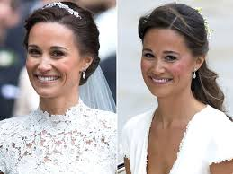 pippa middleton wore a recognizable u0027something old u0027 people com