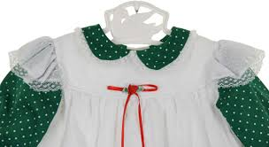 Vintage Style Baby Clothes Vintage Bryan Green Dotted Pinafore Dress Vintage Green Pinafore